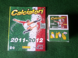 Panini Calciatori 2011/2012 Box + Album