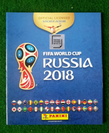 Panini World Cup 2018 Russia Soft  Album