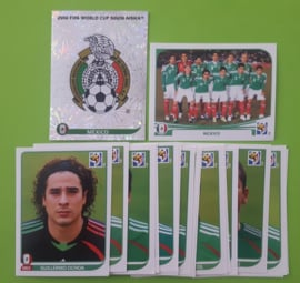 World Cup 2010 Complete Team Set Mexico