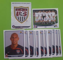 World Cup 2010 Complete Team Set USA
