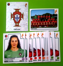 Panini EURO 2017 Complete Team set Portugal