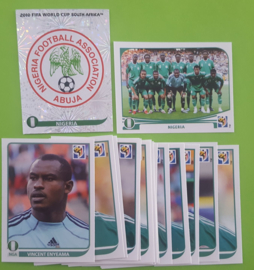 World Cup 2010 Complete Team Set Nigeria