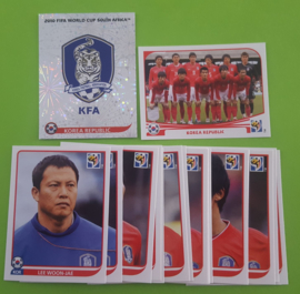World Cup 2010 Complete Team Set South Korea