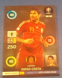 Panini Adrenalyn XL Road to France 16 GAME CHANGER DIEGO COSTA