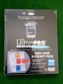 Ultra Pro 100 Pages Side-Load 9-Pocket