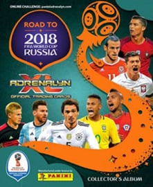 Panini Adrenalyn XL Road to Russia 2018