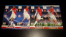 Panini Adrenalyn XL CL 14/15 Update Edition AS Monaco complete set