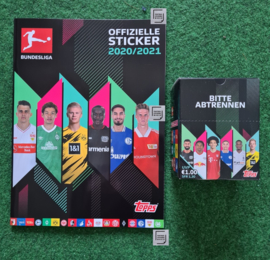Topps Bundesliga 2020/2021 Box + Album