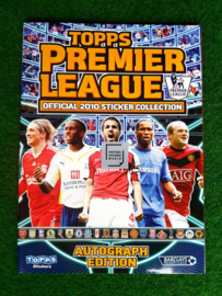 Topps Premier League 2010 album