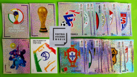Panini World Cup 2002 Complete set foils