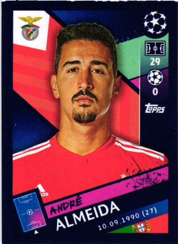 Sticker 499 Luisao Topps Champions League 18//19