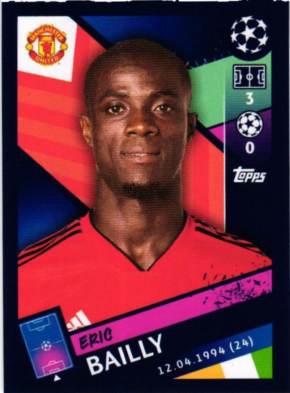 Romelu Lukaku Sticker 192 Topps Champions League 18//19