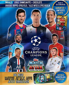 Topps Match Attax Ligue des Champions 19//20 CARTE Nº MCY 1 Manchester City FC