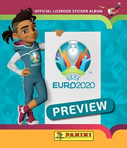 EURO 2020 Preview Stickers
