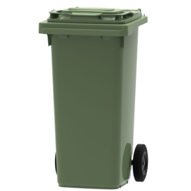 Mini container groen - 120 liter