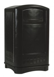 Landmark container, Rubbermaid zwart - 189 liter