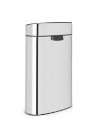 Touch Bin New Recycle, Brabantia RVS - 1 x 10 en 1 x 23 liter