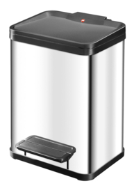 Oko Duo Plus, Hailo RVS/zwart - 2 x 9 liter