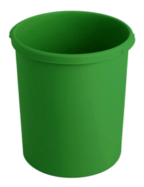Kunststof papierbak groen - 30 liter