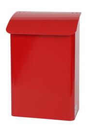 Stalen brandveilige brievenbus 290x180x425mm rood
