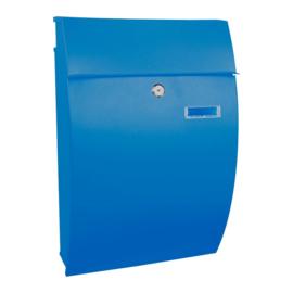 Wandbrievenbus Geronan 322x155x480mm blauw