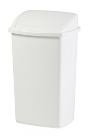 Afvalbak wit - 50 liter ( set 12 stuks )