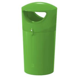Afvalbak Metro Hooded lime - 100 liter