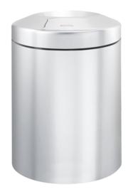 Vlamdovende papierbak, Brabantia mat RVS - 7 liter