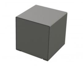 zitbank KUBE staal 450x450x450mm