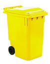 Mini container geel - 360 liter