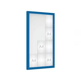 vitrine Klassiek vleugeldeur 750x1350x58mm