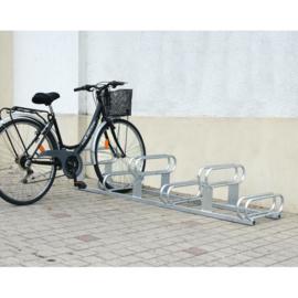 fietsparkeerbeugel hoog-laag 6-plaatsen gegalvaniseerd
