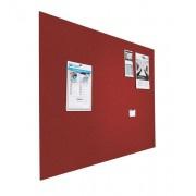 Prikbord bulletin 600x900mm rood zwevend