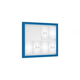 vitrine Klassiek vleugeldeur 980x830x58mm