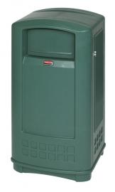 Landmark container junior, Rubbermaid groen - 133 liter