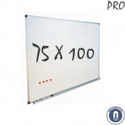 Whiteboard 750x1000mm magnetisch emaille pro