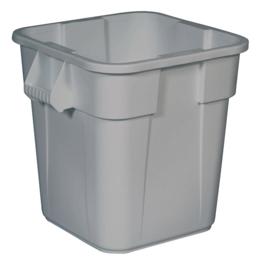 Ronde Brute container, Rubbermaid grijs - 106 liter