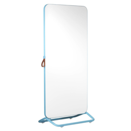 Chameleon Mobile dubbelzijdig whiteboard 890x1920mm wit/ frame blauw