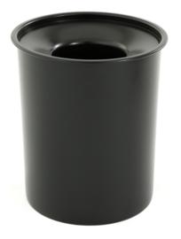 Stalen vlamdovende papierbak - 20 liter