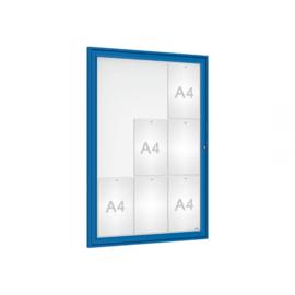 vitrine Tradition vleugeldeur 750x1050x30mm
