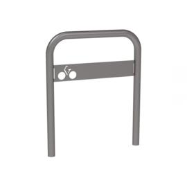 fietshoepel met fietssymboolplaat
