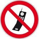 Verbodsbord GSM toestellen