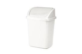 Afvalbak met swingdeksel 0 tot 10 liter