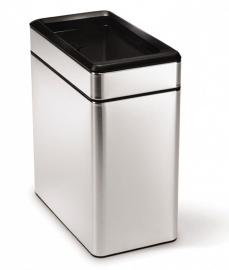 Profile Open Bin, Simplehuman mat RVS - 10 liter
