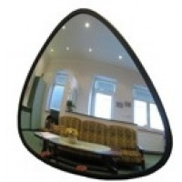 Convex binnenspiegel driehoek 330x330x380mm