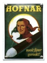Emaille NK-21-HO Hofnar sigaren 100x140mm