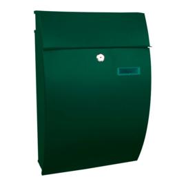 Wandbrievenbus Geronan 322x155x480mm groen
