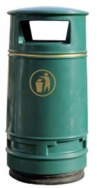 Afvalbak Morvan groen - 90 liter