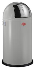 Pushboy, Wesco cool grijs - 50 liter
