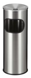 As-papierbak RVS - 9 liter
